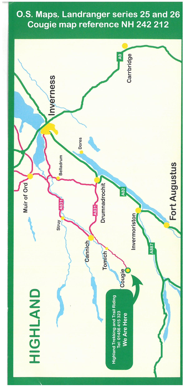 Highland Trekking & Trail Riding brochure thumbnail