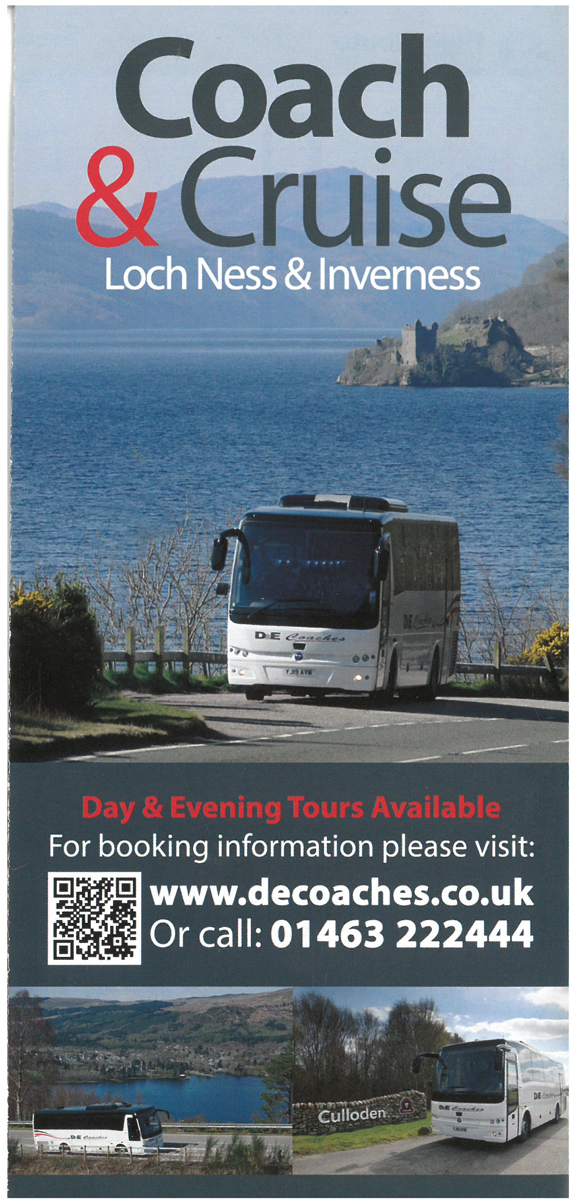 Coach & Cruise Tours of Loch Ness & Inverness