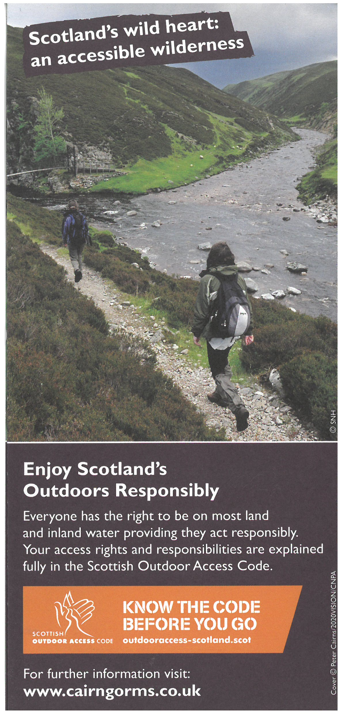 Cairngorms National Park - Tread Lightly in the Park brochure thumbnail