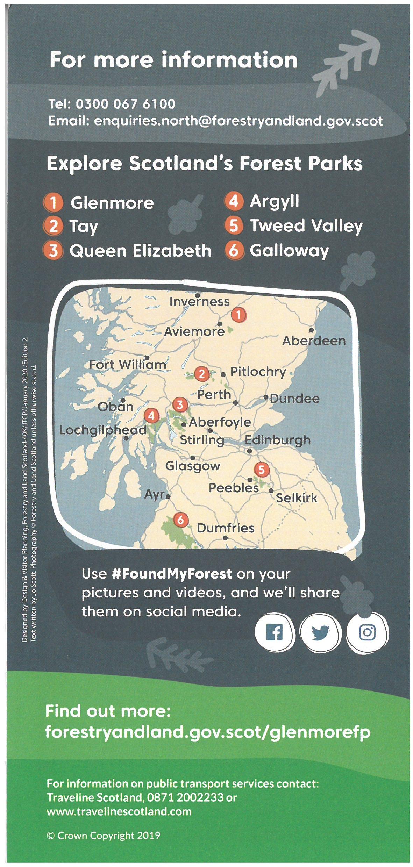 Glenmore Forest Park brochure thumbnail