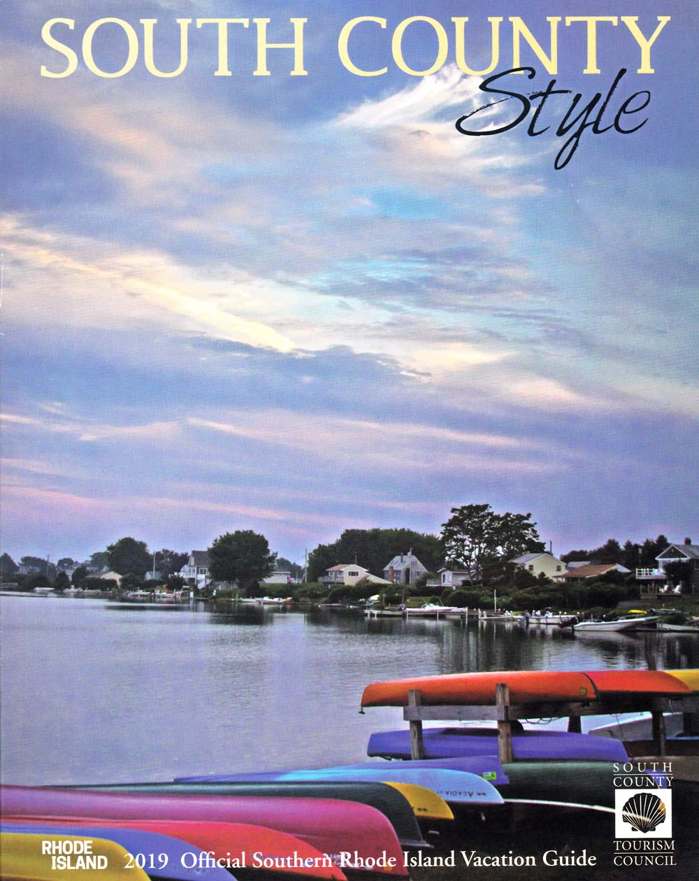 South County Style Front Brochure Cover