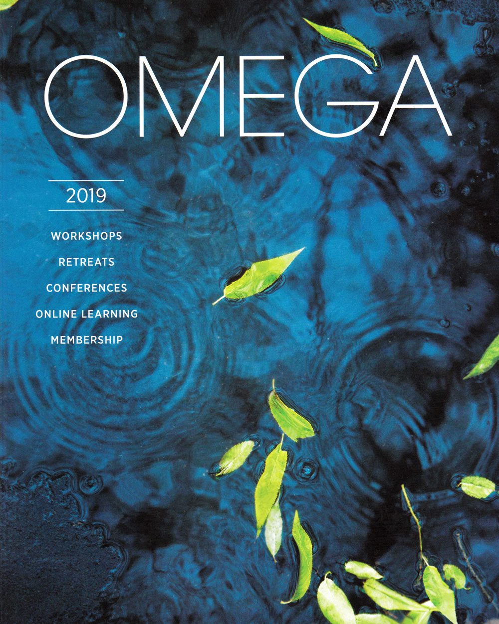 Omega Institute for Holistic Studies Front Brochure Cover