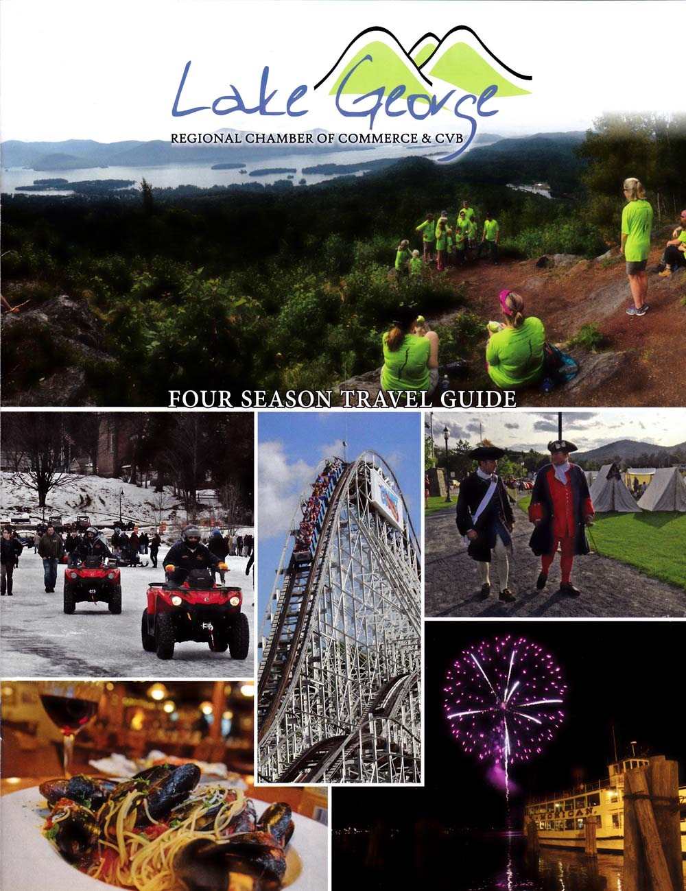 Lake George Regional Chamber  Front Brochure Cover