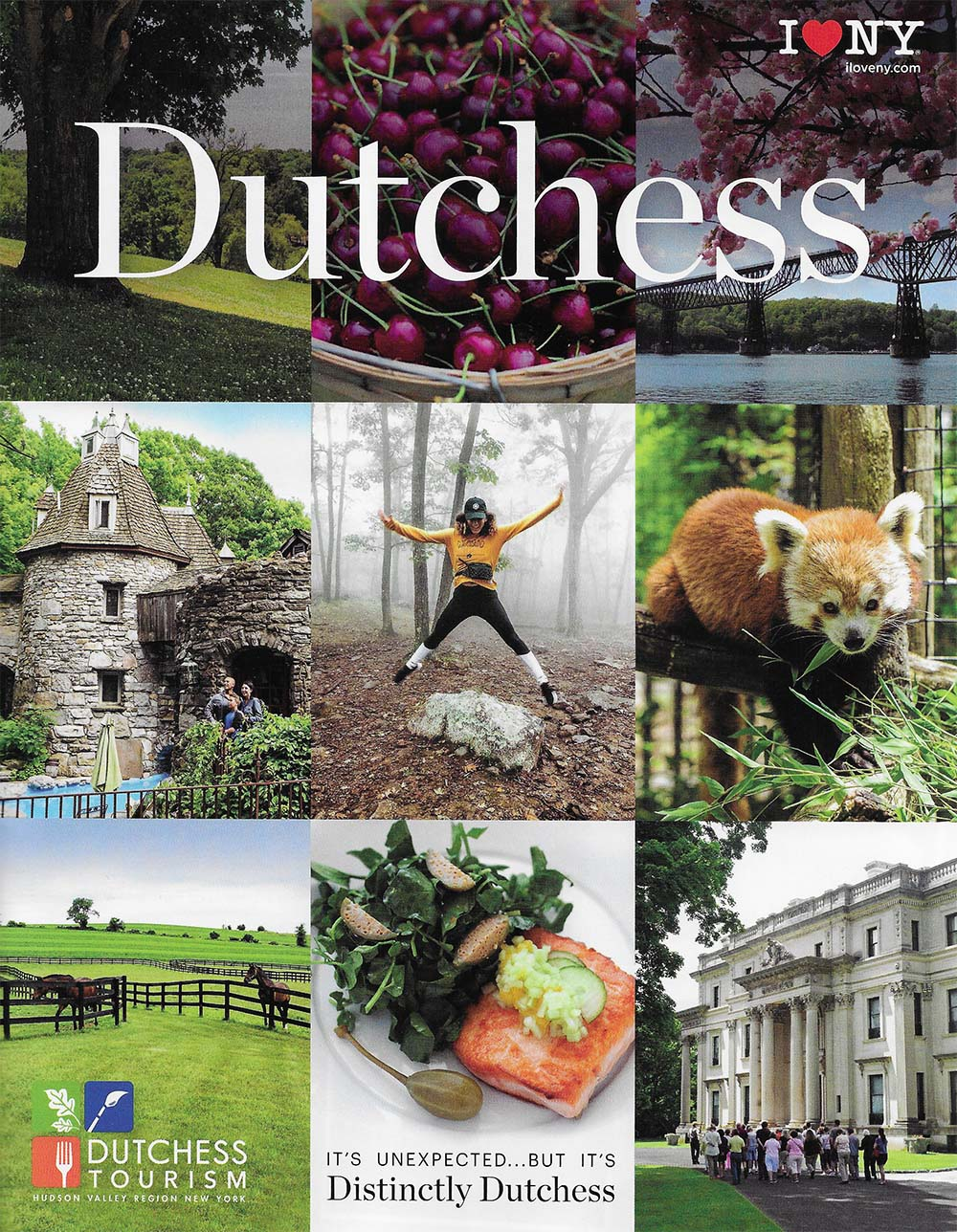 Dutchess Cty Visitor Guide Front Brochure Cover