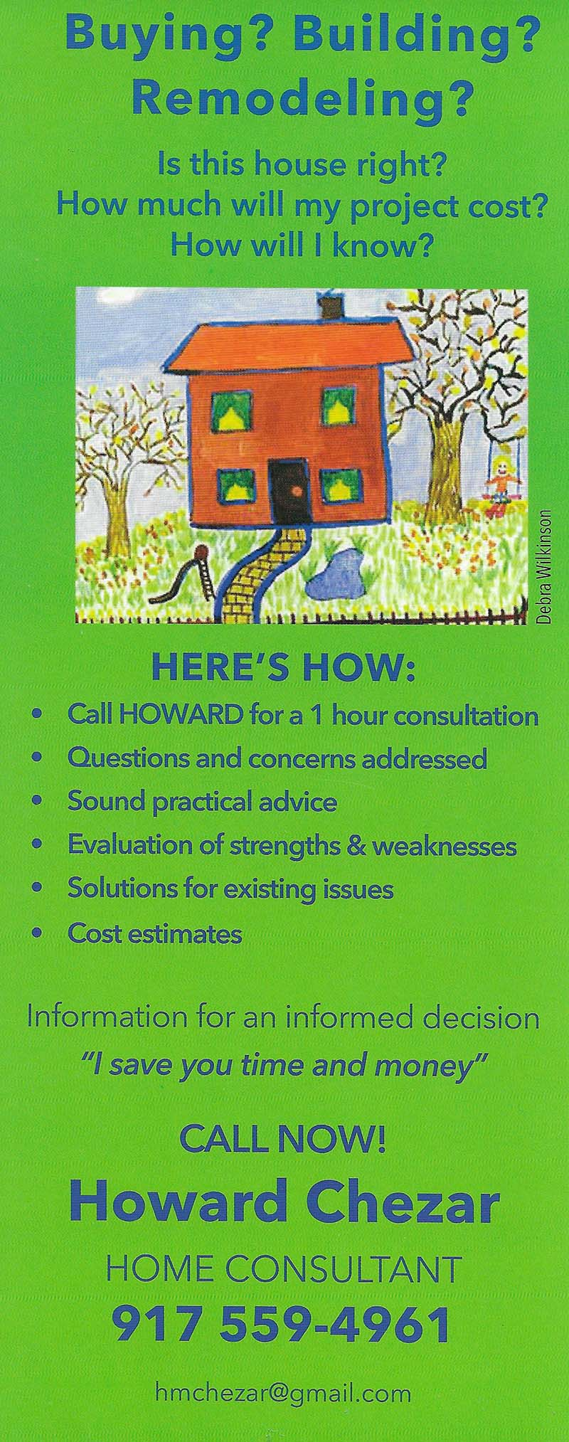 Howard Chezar brochure thumbnail