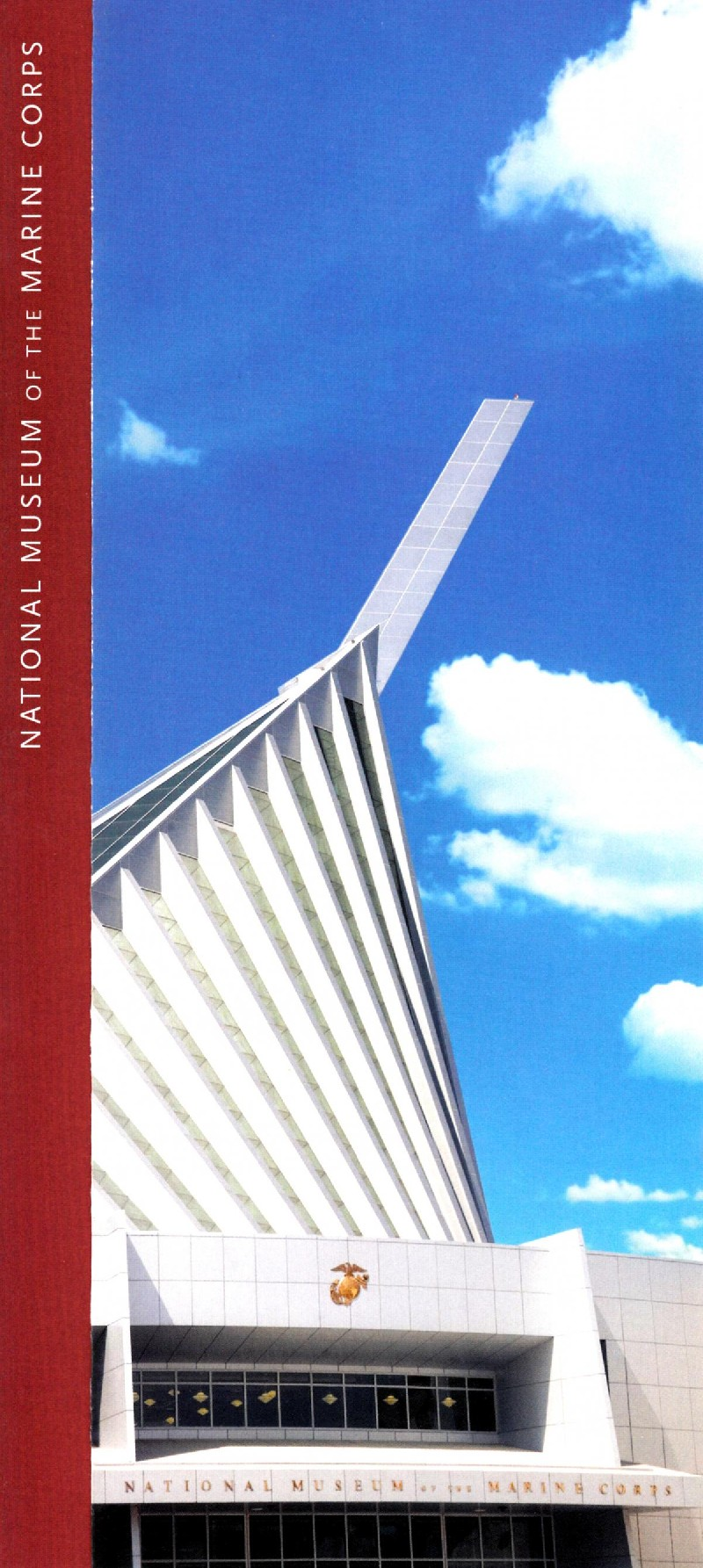 National Museum of The Marine Corps Front Brochure Cover