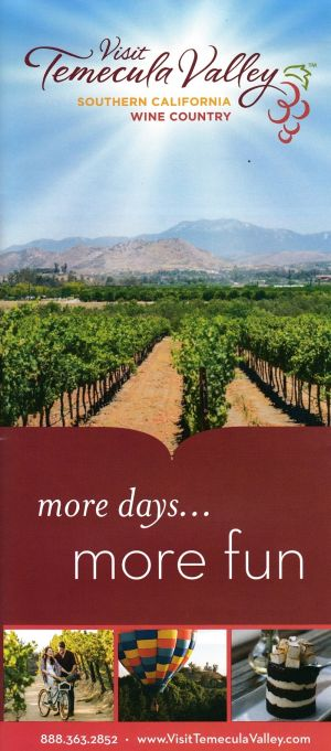 Visit Temecula Valley Front Brochure Cover