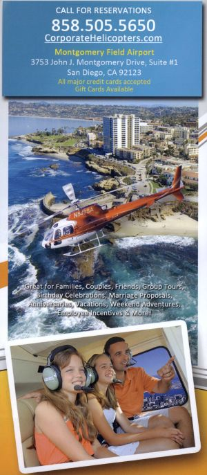 Corporate Helicopters Back Brochure Cover