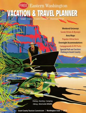 E. Washington Vacation Planner Front Brochure Cover