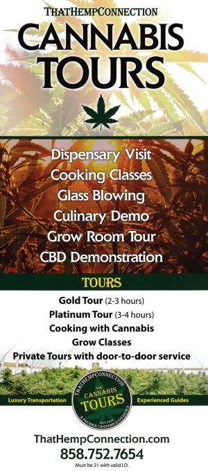 That Hemp Connection Front Brochure Cover