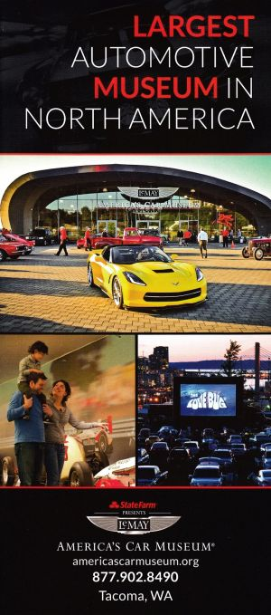 LeMay America's Car Museum Front Brochure Cover