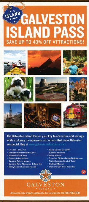Traveler Info Guide - Galveston brochure thumbnail