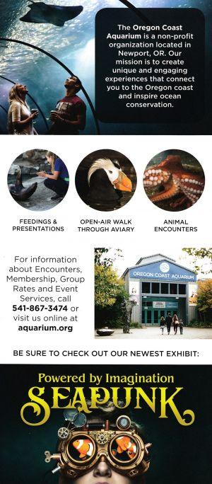 Oregon Coast Aquarium brochure thumbnail