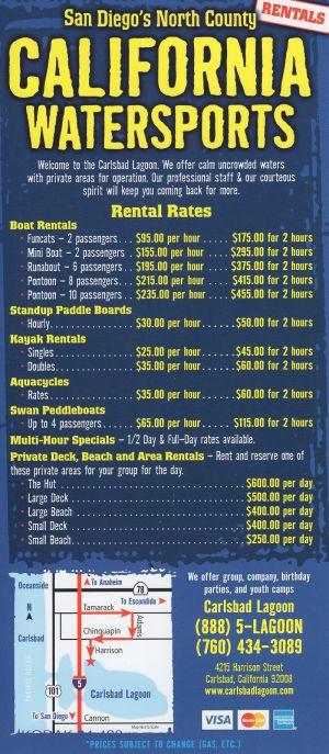 California Water Sports brochure thumbnail