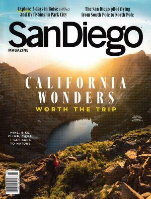 San Diego Magazine brochure thumbnail