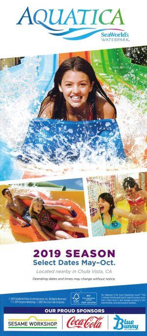 Sea World of California brochure thumbnail