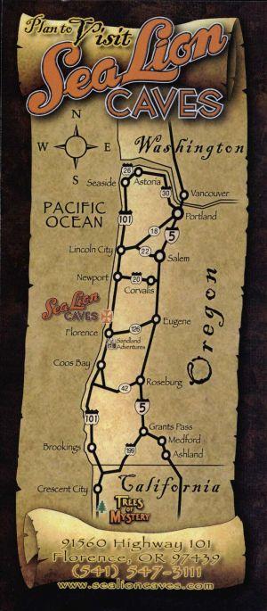 Sea Lion Caves brochure thumbnail