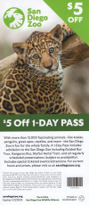 San Diego Zoo Discount Coupon