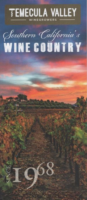Temecula Valley: Southern California's Wine Country brochure thumbnail