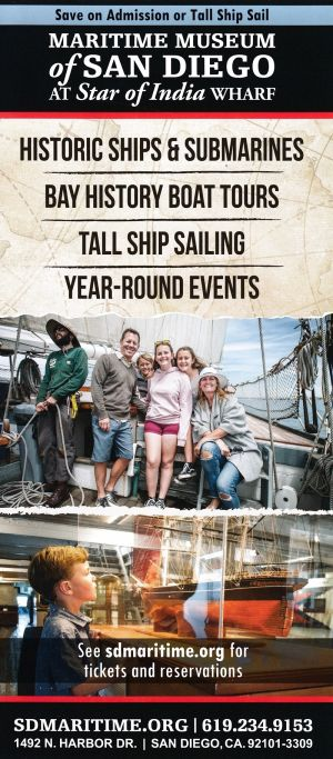Maritime Museum of San Diego brochure thumbnail