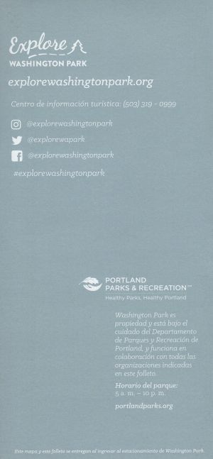 Explore WA Park Map - Spanish brochure thumbnail
