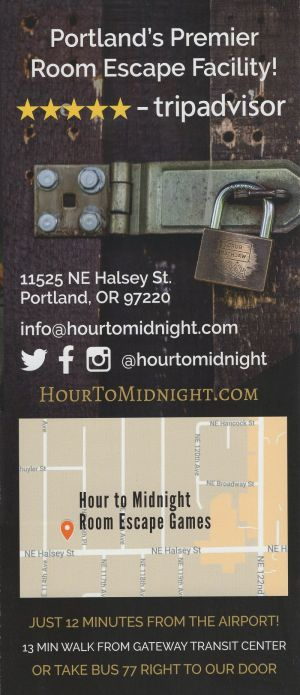 Hour to Midnight brochure thumbnail