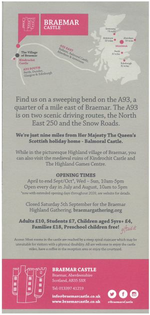 Braemar Castle brochure thumbnail