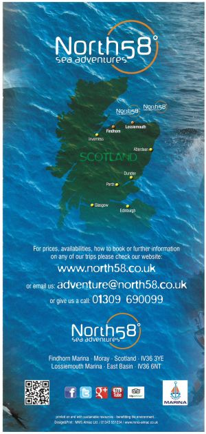 North 58 Sea Adventures brochure full size