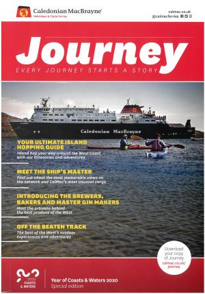 Calmac the Journey brochure thumbnail