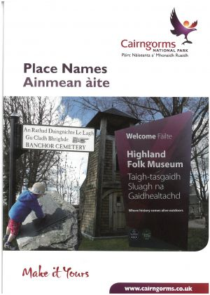 Cairngorms National Park - Gaelic Place Names brochure thumbnail
