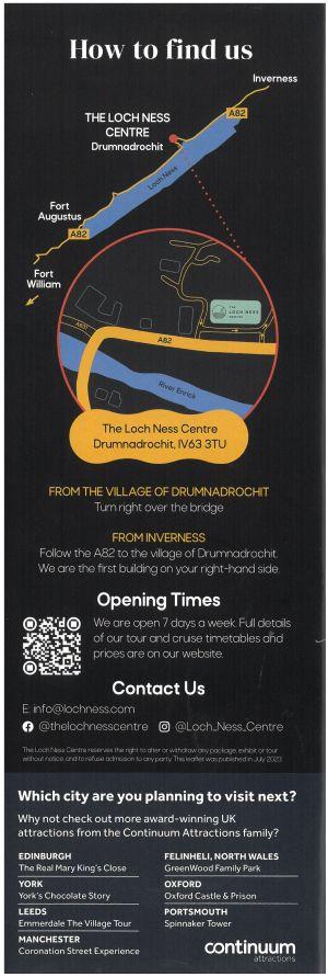 Loch Ness Centre & Exhibition brochure thumbnail