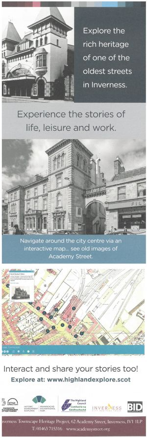 Inverness Townscape Heritage brochure thumbnail
