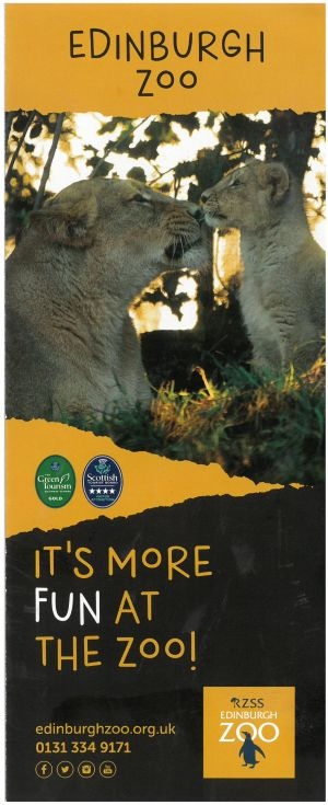 Highland Wildlife Park brochure thumbnail