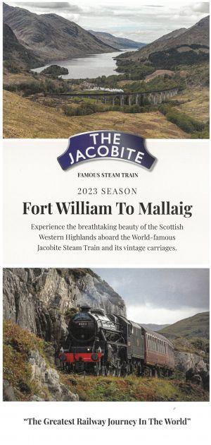 Jacobite Steam Train brochure thumbnail