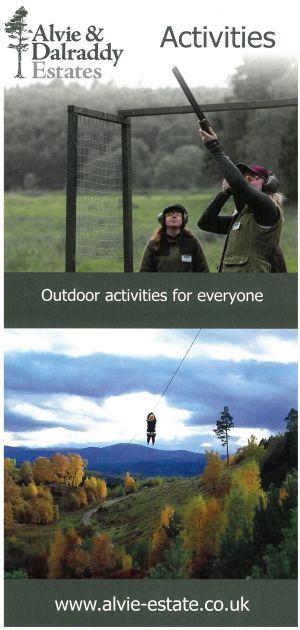 Alvie & Dalraddy Estates Activities brochure thumbnail