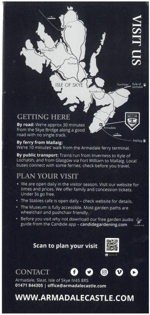 Armadale Castle & Gardens brochure thumbnail
