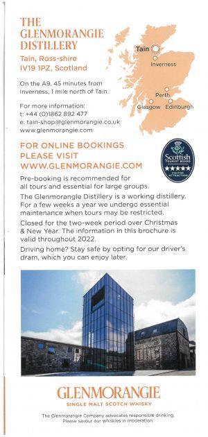 Glenmorangie Distillery brochure thumbnail