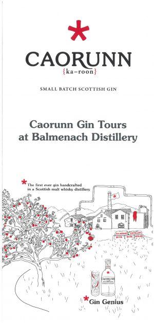 Caorunn Gin brochure thumbnail