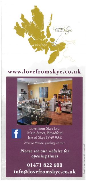 Love From Skye brochure thumbnail