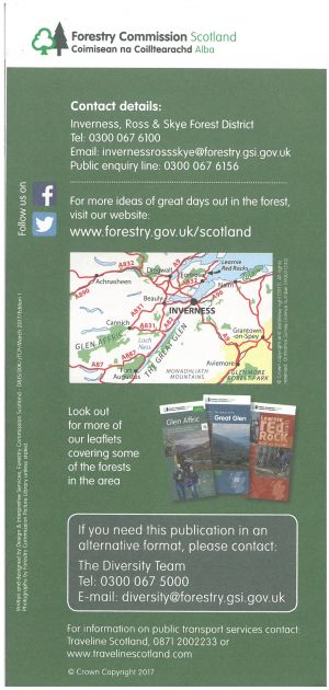 Explore the Forests of Inverness brochure thumbnail