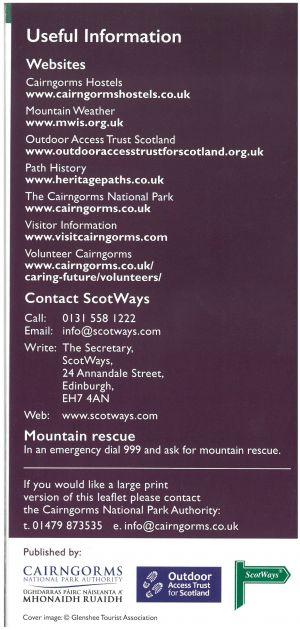 Cairngorms National Park - Hill Tracks brochure thumbnail