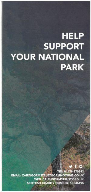 Cairngorms National Park - Cairngorm Trust brochure thumbnail