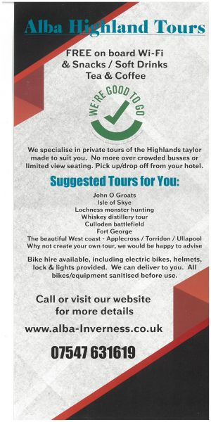 Alba Highland Tours brochure thumbnail