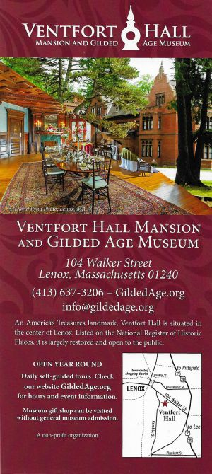 Ventfort Hall Mansion & Gilded Age Museum brochure thumbnail