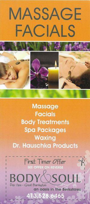 Body & Soul Day Spa brochure thumbnail
