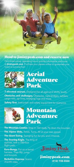 Jiminy Peak Mountain Adventure brochure thumbnail