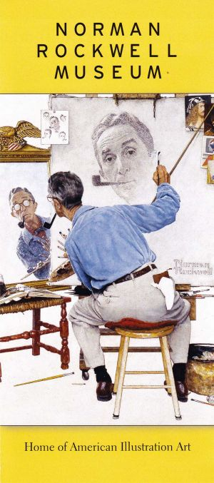 Norman Rockwell Museum brochure thumbnail