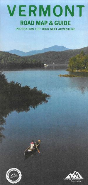 Vermont Road Map brochure full size