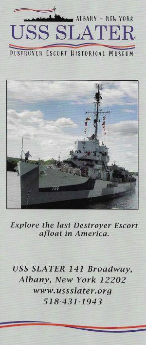 USS Slater DE 766 brochure thumbnail