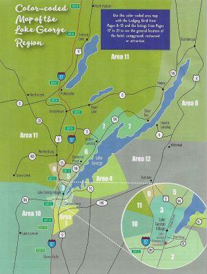 Lake George  Regional Chamber of Commerce brochure thumbnail